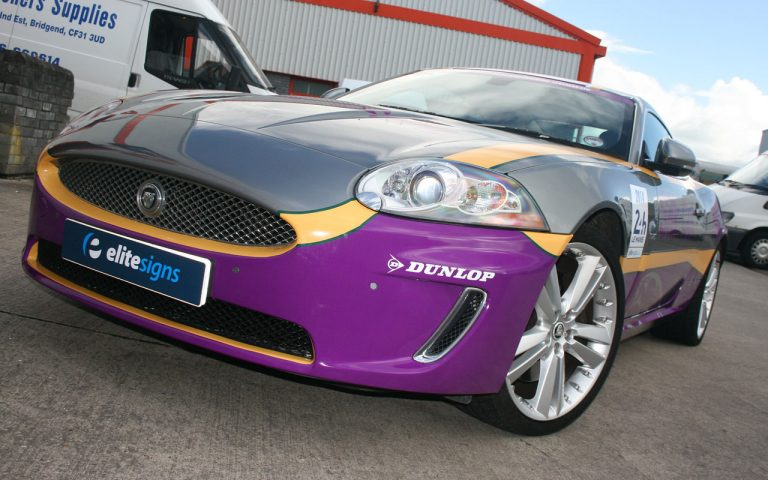 Jaguar XK Vehicle Wrap
